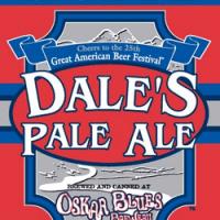 「Oskar Blues / Dale's Pale Ale」の画像検索結果