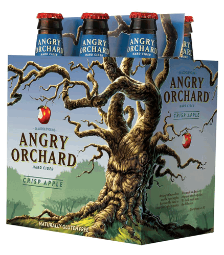 "By the way, the ""crisp"" I'm referring to is the taste and sensation from biting into a ripe honeycrisp apple – which is what I experienced drinking this cider. The Angry Orchard Crisp Apple has a distinct fresh apples aroma and a beautiful amber presentation."