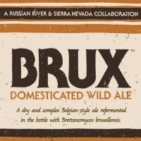 Brux Domesticated Wild Ale (Sierra Nevada and Russian River)