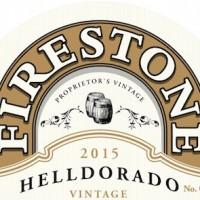 Firestone Walker Helldorado Blonde Barley Wine label BeerPulse