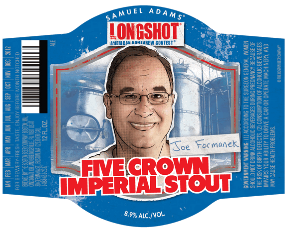 Samuel Adams LongShot Five Crown Imperial Stout