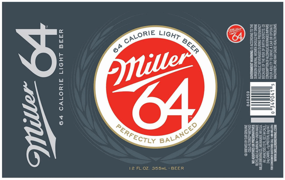 Miller64 12 oz Can