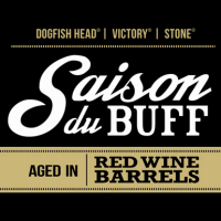 Saison du buff aged in red wine barrels
