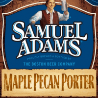 Samuel Adams Maple Pecan Porter body label