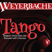 Weyerbacher Tango Belgian Dark Ale label