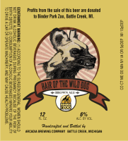 Wild Dog bottle label