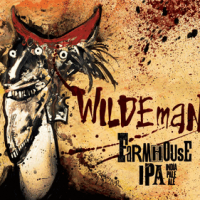 Flying Dog Wildeman Farmhouse IPA label