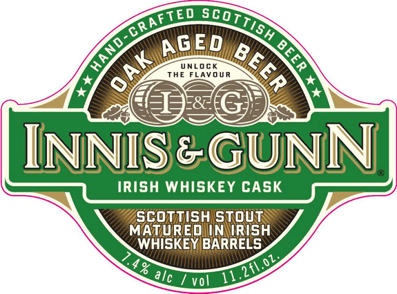 Innis and Gunn Irish Whiskey Cask Scottish Stout
