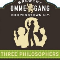 ommegang three philosophers label