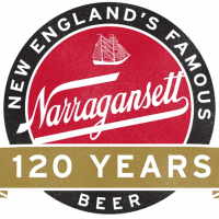 Narragansett 120 years logo