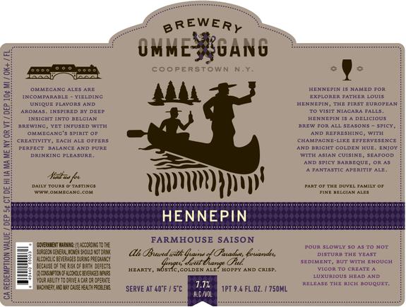 Ommegang Hennepin Farmhouse Saison Beerpulse