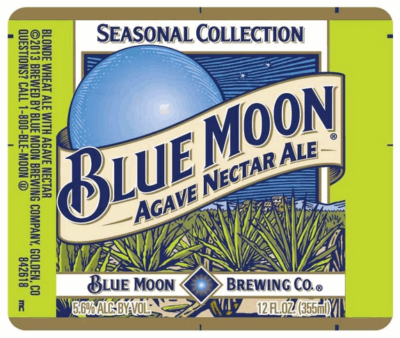 Blue Moon Agave Nectar Ale Reviews