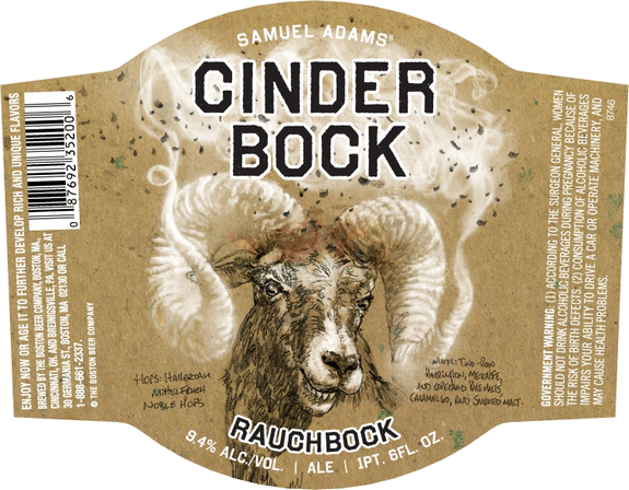 Cinder Bock body label