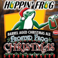 Hoppin' Frog Frosted Frog Barrel-Aged Christmas Ale