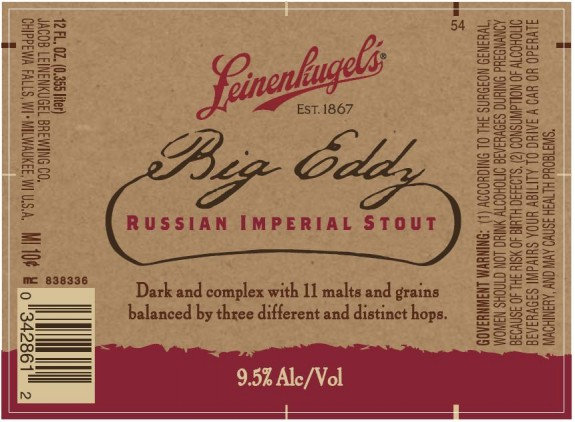 leinies big eddy russian imperial stout