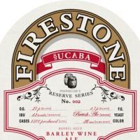 firestone walker §ucaba barleywine label