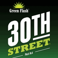 green flash 30th street pale ale label