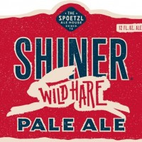 shiner wild hare pale ale label
