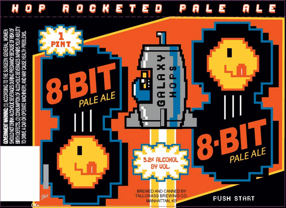 Only One Way To Get Tallgrass 8 Bit Pale Ale Cans And The