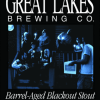Great Lakes Barrel-Aged Blackout Stout label