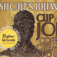 Short's Cup A Joe label