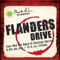 Green Flash Flanders Drive Bourbon Barrel-aged Sour Ale