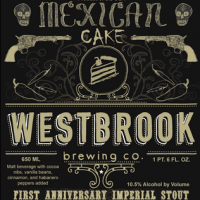 Westbrook Mexican Cake Imperial Stout