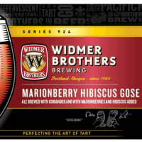 Widmer Brothers Marionberry Hibiscus Gose label