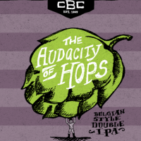 Cambridge The Audacity of Hops Belgian Double IPA label