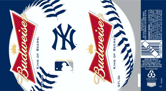 Budweiser Yankees Can