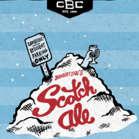 Cambridge Bannatyne's Scotch Ale label