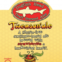 Dogfish Head Tweason'ale label