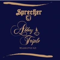 Sprecher Abbey Triple Belgian Ale