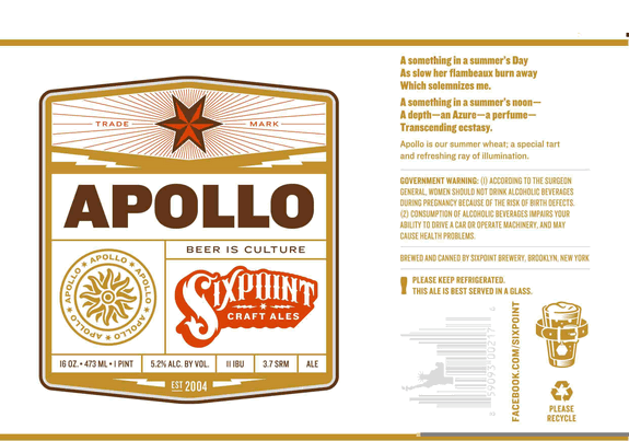 Sixpoint Apollo Summer Wheat