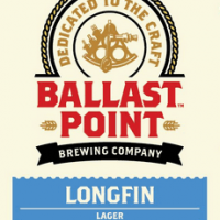 Ballast Point Longfin Lager label