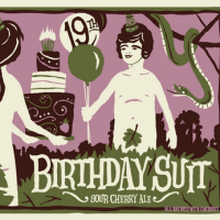 Uinta Birthday Suit Sour Cherry Ale