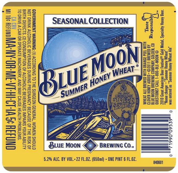 Image result for blue moon summer honey