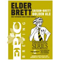 Epic Elder Brett Saison-Brett Golden Ale