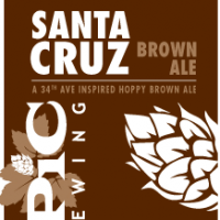 Epic Brewing Exponential Santa Cruz Brown Ale