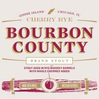 Goose Island Bourbon County Brand Cherry Rye Stout