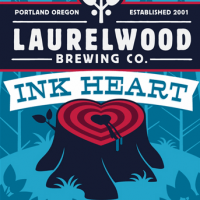 Laurelwood Ink Heart Cascadian Dark Ale