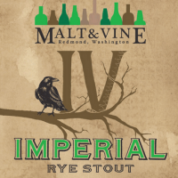 Malt and Vine IV Imperial Rye Stout
