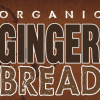 Bison Organic Gingerbread Ale label