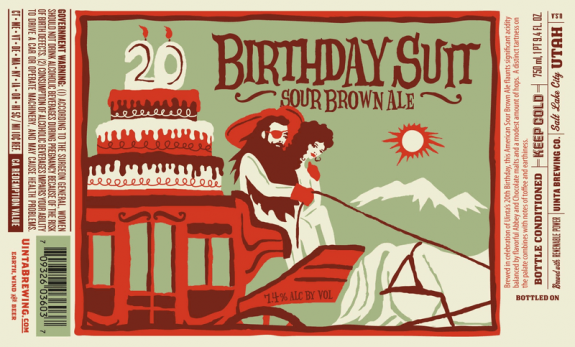 Uinta Birthday Suit Body Label