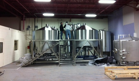 New Brewhouses Arrive At Sly Fox Flying Fish Beerpulse