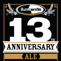 bottleworks 13th anniversary ale (stone brewing) label
