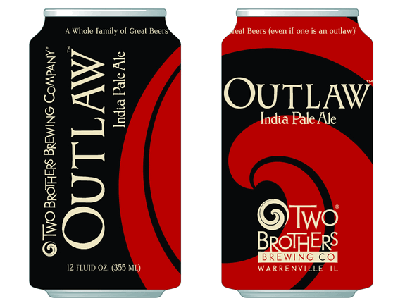 two brothers outlaw ipa can