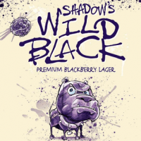 Blue Dawg Shadow's Wild Black Blackberry Lager