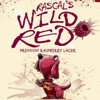 Blue Dawg Rascal's Wild Red Raspberry Lager
