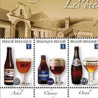 belgium trappist stamps